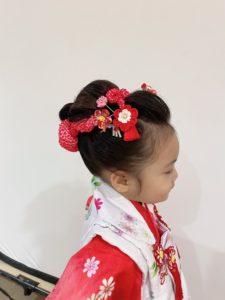 七五三 日本髪(右)